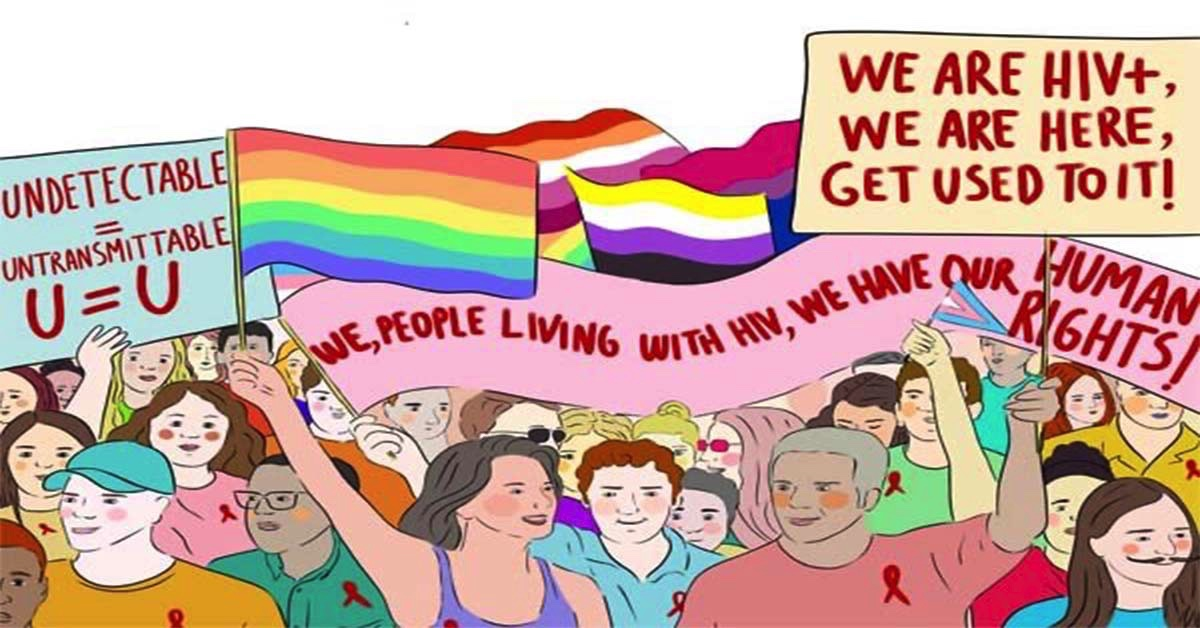 """The Report on the Human Rights of LGBTI+ Persons Living With HIV"" is out! - May 17 Association"